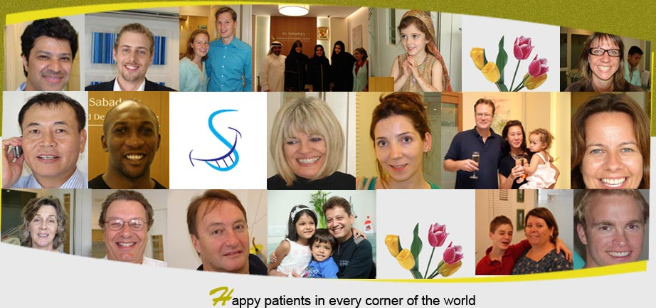 Happy Patients in Every Conrner of the World